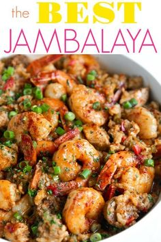 Jambalaya is a classic one-pot recipe filled chicken, sausage, shrimp, and rice. Easy to prepare and completely irresistible, this Jambalaya Recipe includes all the classic flavors of true Cajun/Creole cooking including…View Post Cajun Recipes, Seafood Recipes, Dinner Recipes, Cooking Recipes, Healthy Recipes, Louisiana Recipes, Haitian Recipes, Donut Recipes, Gastronomia