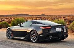 Lexus LFA - Nice car but way over priced..