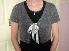 Beaded little cardigan from Kim Hargreaves