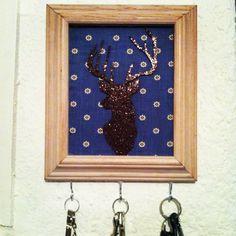 DIY Key holder :)