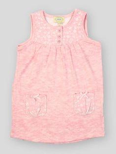 Pink Printed Pocket Dress