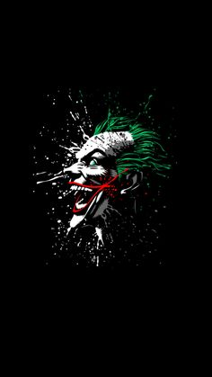Looking For Joker Wallpaper? Here you can find the Joker Wallpapers hd and Wallpaper For mobile, desktop, android cell phone, and IOS iPhone. Art Du Joker, Le Joker Batman, Batman Art, Batman Comics, Joker And Harley Quinn, Batman Wallpaper, Graffiti Wallpaper, Dark Wallpaper, Iphone 5 Wallpaper