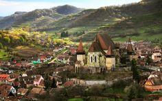 Biertan Village In Transylvania, Romania The Beautiful Country, Beautiful Places, Sibiu Romania, Transylvania Romania, Eastern Europe, World Heritage Sites, Places To Visit, Around The Worlds, Amazing Things