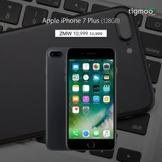 #Pricesdropped for #iPhone7Plus 128 GB from ZMW 11999 to 10999