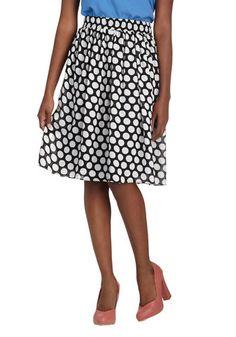 Saturday Statement Skirt, #ModCloth