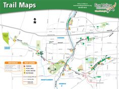 Fox Valley Park District Trail Map