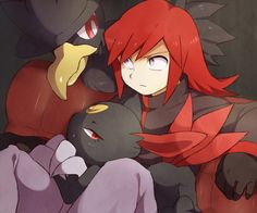 Pokemon Trainer Silver - Main villain of pokemon Silver, Gold and Crystal