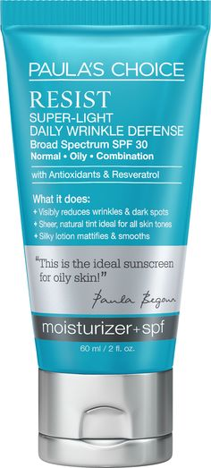 RESIST Super-Light Daily Wrinkle Defense SPF 30 60 ml Paula's Choice
