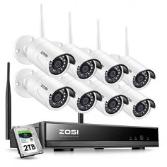 Wireless Security Camera System, Wireless Camera, Security Alarm, Smartphone, Bullet Camera, Ip Camera, Alarm Systems For Home, Best Home Security, Home Protection