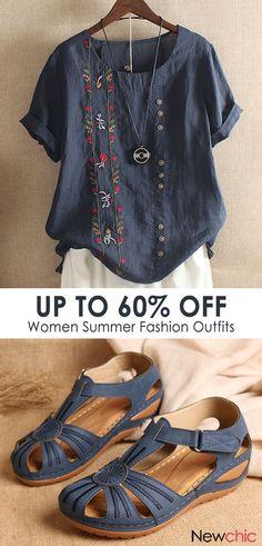 Women's Fashion Trends women summer fashion outfits. Vintage Summer Outfits, Summer Fashion Outfits, Summer Dress Outfits, Boho Fashion, Winter Fashion, Womens Fashion, Dress Casual, Fashion Vintage, Casual Outfits