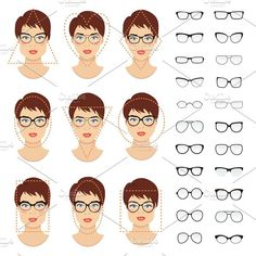 Trendy Glasses For Your Face Shape Round Eyewear Eyeglasses Ideas Frames For Round Faces, Glasses For Round Faces, Glasses For Face Shape, Diamond Face Shape Glasses, Sunglasses For Your Face Shape, Round Face Sunglasses, Sunglasses Women, Eyeglasses For Women Round Face, Round Eyeglasses