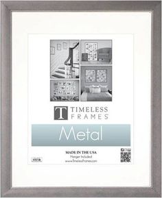 Timeless Frames Beaded Photo Frame 11 by 14Inch Matted to 8 by 10Inch Metal Silver >>> Visit the image link more details.