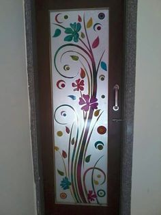 Door Design Interior, Wooden Door Design, Glass Painting Designs, Window Glass Design, Door Glass Design, Grill Door Design, Glass Design, Pooja Room Door Design, House Wall Design