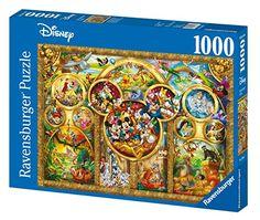 Amazon.com: Ravensburger Disney Best Themes Jigsaw Puzzle (1000 Piece): RAVENS: Toys & Games Ravensburger Puzzle, Disney Puzzles, Walmart, Puzzle Shop, Disney Theme, Walt Disney, Disney Gift, Cool Themes, Cross Paintings