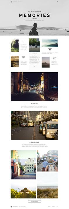 Blog layout by Nguyen Le, photos by Unsplash (via Dribble)