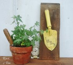 Tools repurposed | Farmhouse Friday #6 - Repurposed Tools - Knick of Time
