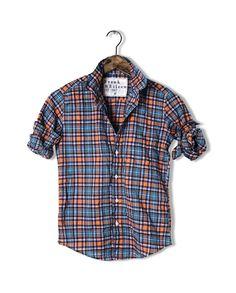 FRANK & EILEEN Barry Plaid Shirt