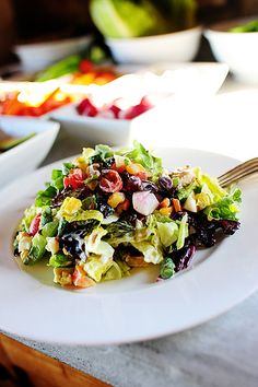 Have a New York style Chopped Salad Party!