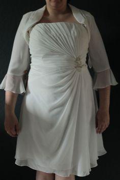 ♥ (Standesamt-)Brautkleid kurz Gr. 46 ♥  Ansehen: http://www.brautboerse.de/brautkleid-verkaufen/standesamt-brautkleid-kurz-gr-46-2/   #Brautkleider #Hochzeit #Wedding