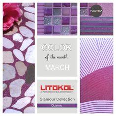 Color March - Litokol Starlike Glamour - Ciclamino