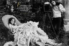 2003 Vogue Magazine ,Annie Leibovitz with Natalia Vodianova as Alice Liddell