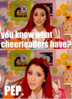 im not a big fan of cheerleaders..