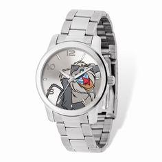 Adult Size Disney Silver-tone Lion King Rafiki Watch