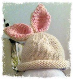 Bunny beanie by Noe Knit