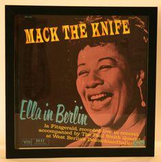 "Ella Fitzgerald in Berlin ""Mack The Knife"" Vintage Album   Vintage Duds and Decor"