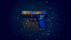 Download P2K Pistol Fire Elemental Counter Strike Global Offensive Weapon Skin 1920x1200
