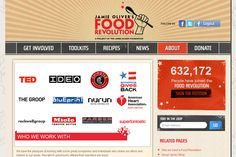 Jamie Oliver – Food Revolution Community