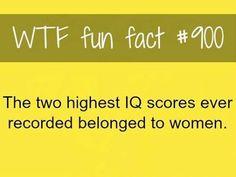 highest IQ scores