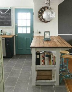 How to build a kitchen island from wood pallets kitchens and storage 19 neat useful kitchen isles designs with seating options included industrial kitchen islandrustic kitchen islandindustrial kitchensbuild solutioingenieria Image collections