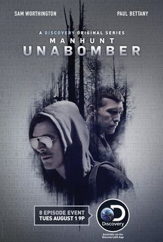 Paul Bettany and Sam Worthington in Manhunt: Unabomber (2017)