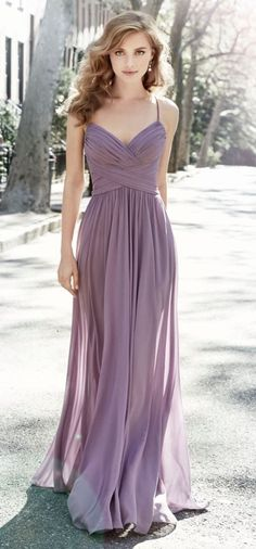 Bridesmaid Dress 5704 by Hayley Paige Occasions - Search our photo gallery for pictures of wedding bridesmaids by Hayley Paige Occasions. Find the perfect bridesmaid with recent Hayley Paige Occasions photos. Wisteria Bridesmaid Dresses, Wedding Bridesmaid Dresses, Wedding Attire, Lavender Wedding Dress, Bridesmade Dresses, Lavender Dresses, Bridesmaid Outfit, Dresses Dresses, Light Purple Dresses