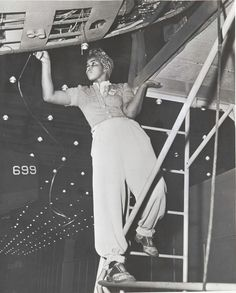 Amanda Smith, worker at the Long Beach Plant of the Douglas Aircraft Company (circa late 1930s - 1940s)