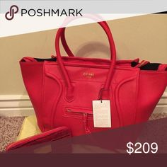 BIG PHANTOM RED BAG RED PHANTOM BAG, BRAND NEW WITH TAGS, COMES WITH DUST BAGS. AAA Quality Bags Shoulder Bags