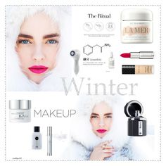 """""""Winter beauty"""" by katelyn999 ❤ liked on Polyvore featuring beauty, Givenchy, Gucci, Ramon Monegal, The Fragrance Kitchen, RéVive, French Girl, La Mer and Clarisonic"""