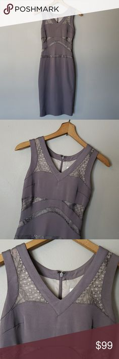 3c518f00a0e84 REISS fitted lavender lace lined dress size 0 In excellent preowned  condition. Happy Poshing!