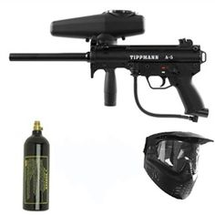 Tippmann A-5 Paintball Marker Gun 3Skull Package. Available at UltimatePaintball.com