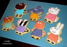 Peppa pig cookies - very cool