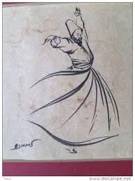 derviches tourneurs Peinture ile ilgili görsel sonucu