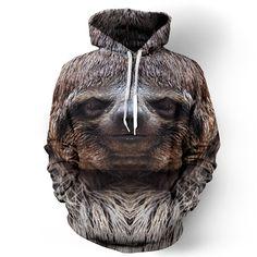 Happy Sloth Hoodie