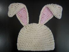 Crochet Hat Pattern Baby Floppy Ear Bunny Hat