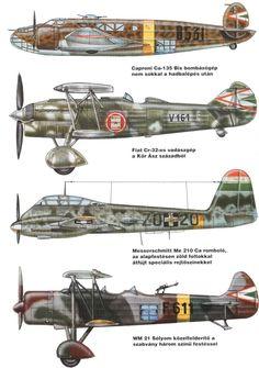 Hungarian Aircraft WW2