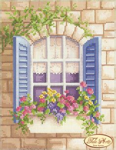 Items similar to Window to London Beaded Embroidery kit DIY Beadwork Hand embroidery Beading set Beaded Embroidery Beaded needlepoint Kit avec perle on Etsy – Handstickerei Cross Stitch House, Cross Stitch Kits, Cross Stitch Designs, Cross Stitch Patterns, Beaded Embroidery, Cross Stitch Embroidery, Embroidery Patterns, Hand Embroidery, Beaded Cross Stitch