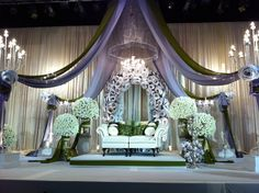 The Wedding Company Wedding Stage Decorations, Backdrop Decorations, Backdrops, Wedding Prep, Wedding Sets, Dream Wedding, Malay Wedding, Wedding Company, Living At Home