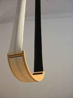 Michael Hensel imagine this interior swing using wood and reclaimed fire hoses. Winner of the re: design [net] work awards 2010 Design Net, Deco Design, Swing Design, Indoor Swing, Indoor Outdoor, Outdoor Rooms, Outdoor Living, Swinging Chair, Rocking Chair