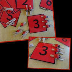 "Counting, number recognition and fine motor work from Rachel ("",)"