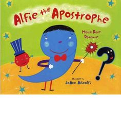Great book for possessive nouns classroom ideas pinterest alfie the apostrophe is nervous can he make it into the punctuation mark talent fandeluxe Gallery